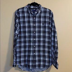 Men's Ralph Lauren Flannel Dress Shirt